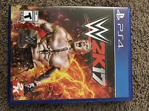 Wwe 2k17 PS4  (New Condition)