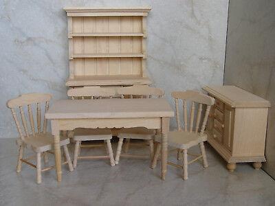 Miniatur Küche für Puppenstube Puppenhaus Möbel f. Sammler M 1:12 neu 2. Wahl