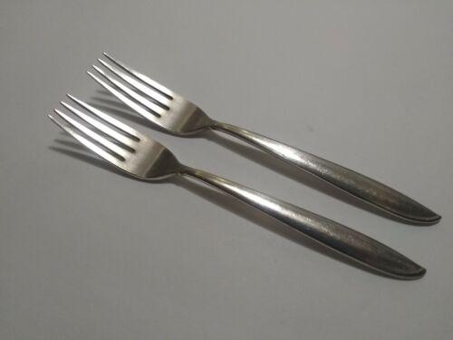 "Vintage 2 International Sterling Silver Rhythm 7 1/4"" Forks 115 gm scrap or use"