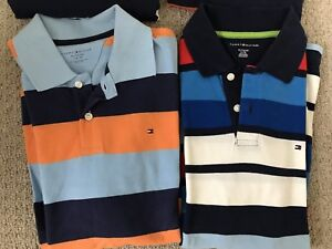 2 Like New - Tommy Hilfiger Long Sleeves T Shirts (XL 16/18)
