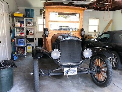 1925 Ford Model T  Model T Ford 1925 Ford Depot Hack Original With Electric Start