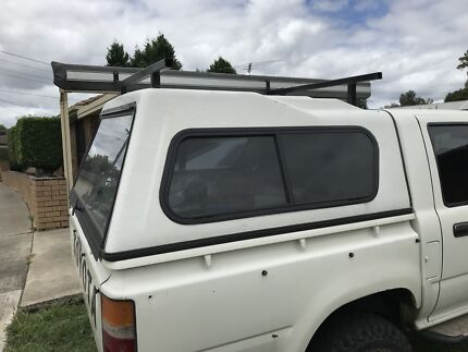Toyota hilux canopy & toyota roof racks in Victoria | Gumtree Australia Free Local ...
