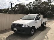 AUTO 2013 TOYOTA HILUX WORKMATE 4 CYLINDERS 2.7L 93,000kms ONLY Parafield Gardens Salisbury Area Preview