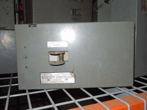 Cutler Hammer Uni-bus Hd1361 30a 3ph 3w 600v Fusible Bus Plug Used E-ok