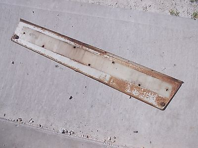 Farmall 706 Tractor Ih Ihc Front Right Hood Skirt White Panel