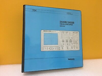 Tektronix 070-6862-00 2445b 2455b Oscilloscopes Service Manual