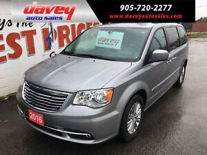 2016 Chrysler Town & Country Touring-L NAVIGATION, DVD, LEATH...