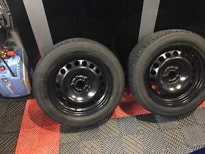 Winter rims/tires for sale. Set of 4 Toyo