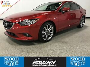 2015 Mazda Mazda6 GT REMOTE START, LEATHER, SUNROOF