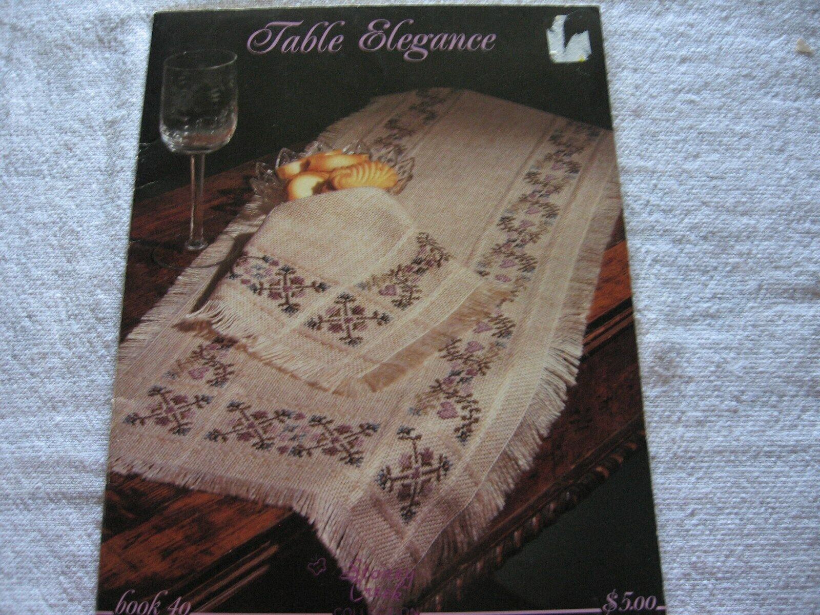 Table Elegance Cross Stitch Pattern Booklet - Book 40 - $2.75