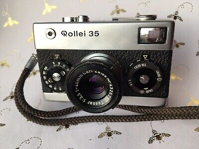 Rollei 35 Camera First Edition Made in Germany Fully Functional CLA'd (EX++), used for sale  Shipping to India