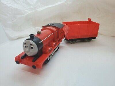 Thomas the Train Trackmaster Motorized James & Car Gullane Mattel