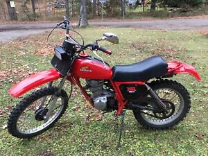 Good Old 1979 Honda XR185 Trail Bike (TRADE)