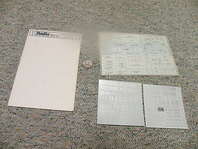 Thinfilm decals S Narrow Gauge SN-11 Rio grande Southern white silver    D36