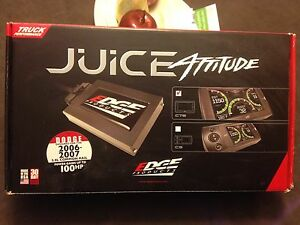 Edge Juice/ Attitude with cts screen programmer