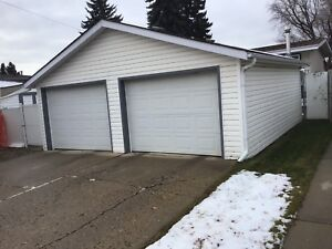 Double garage for sale