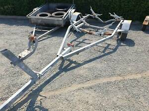 Small roller set up boat trailer needing repair Heatherbrae Port Stephens Area Preview
