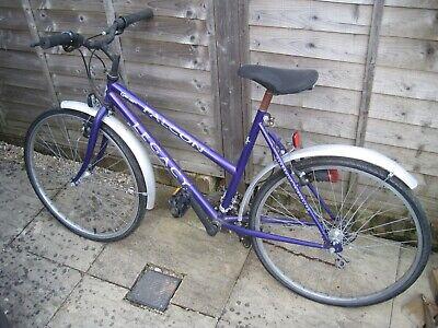 "Falcon Legacy ladies purple bike 19"" frame 26"" wheels - project spares & repairs"