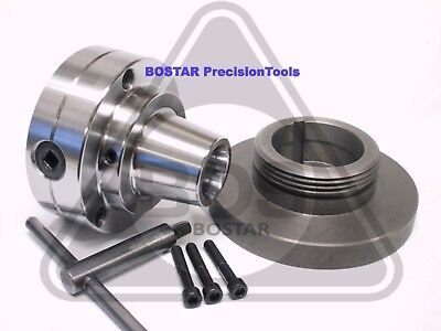 Bostar 5c Collet Lathe Chuck With Semi-finished Backplate L-00.