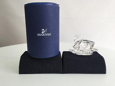 Swarovski Swan Large Crystal #010005 with box & certificate