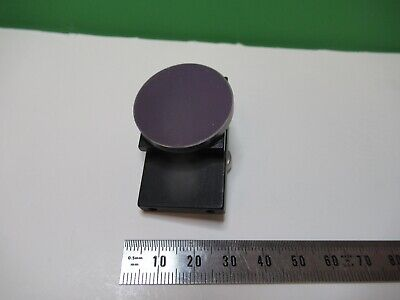 Very Nice Optical Mounted Concave Mirror Laser Optics As Pictured 15-a-18