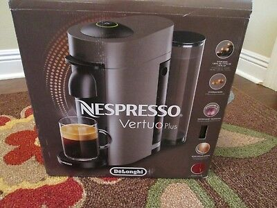 Nespresso VertuoPlus Coffee and Espresso Maker by De'Longhi, Red Inured to
