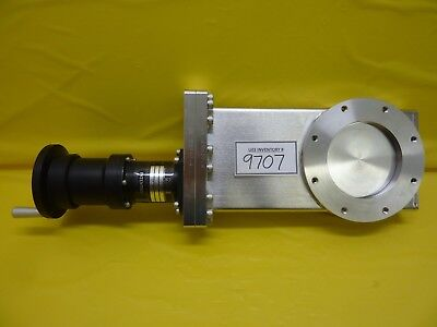 Mdc Vacuum Products 306005 Manual Gate Valve Lgv-4000g Nw100 Used Working
