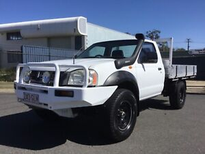 2002 Nissan Navara 3.0ltr turbo Diesel 4x4 Underwood Logan Area Preview