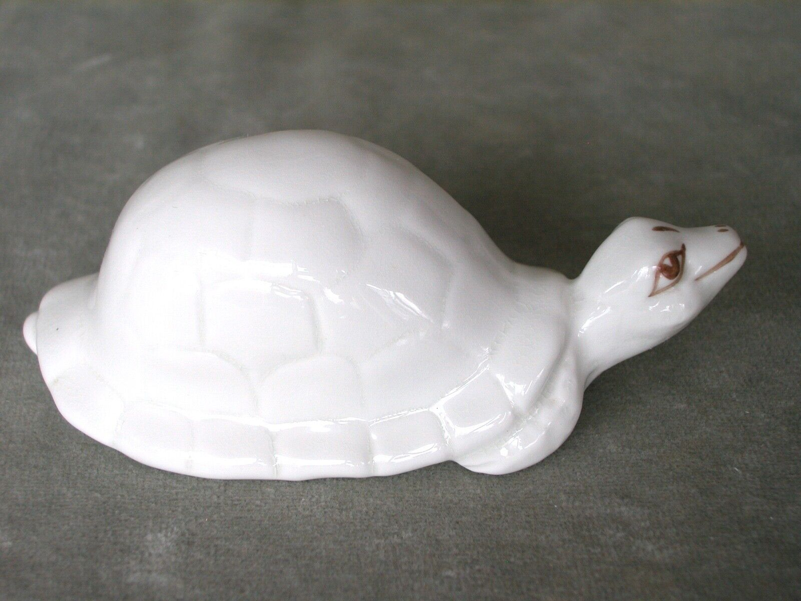 Vintage Porcelain Art Deco Figurine Smiling Turtle . Coalport, England - $12.99