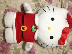 Christmas Hello Kitty plush!!