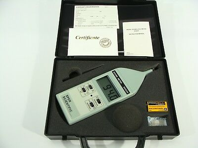 Sper Scientific Model 840029 Hand Held Digital Sound Level Meter 30 - 130db