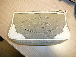 Original PRADA Kosmetiktasche oder kleine Clutch  - REDUZIERT Schnäppchen