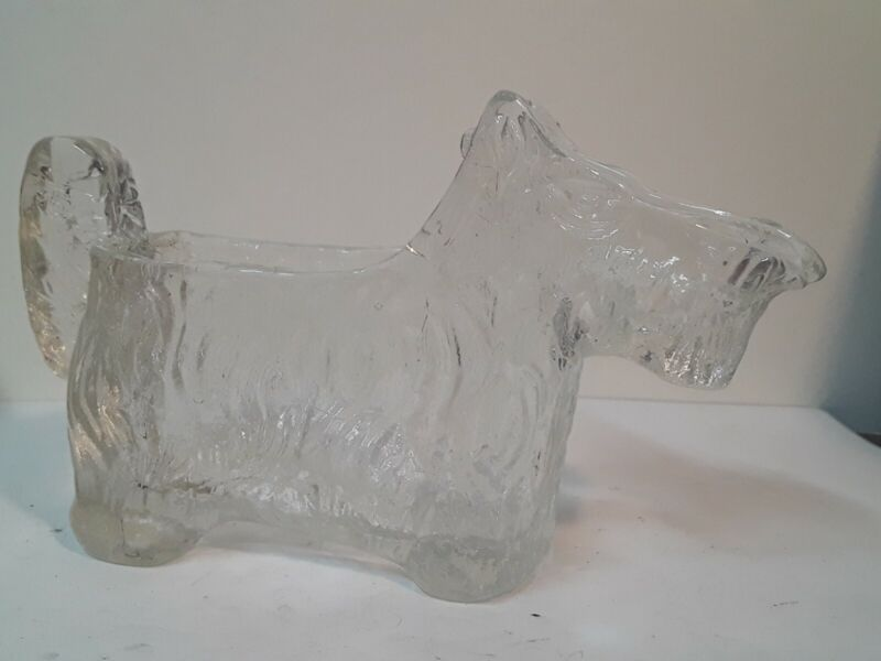 Art Deco Terrior LE Smith Glass Figure,  Creamer, Dish, Trinket