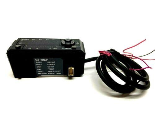 Keyence GT-72AP Fiber Sensor Amplifier MISSING COVER