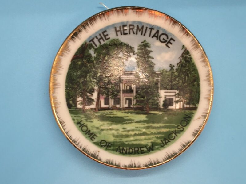 """Small decorative plate for hanging 4"""" Diameter"""