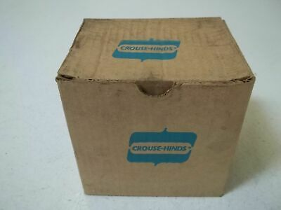 Crouse-hinds Ar641 Model M3 Receptacle-body Grounded New In Box