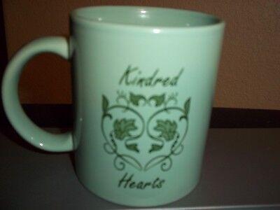 Kindred Hearts Coffee Mug Cup Green