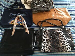 Bags and Purses Lot 6 some NEW