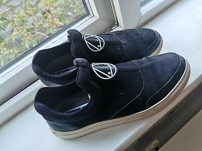 Men's Alexander Mcqueen Black Plimsole Shoes trainers Size 7.5