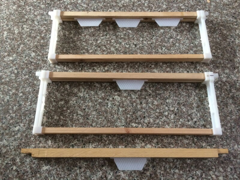 Bee hive frame starter strip 100 pcs Made in U.S.A.