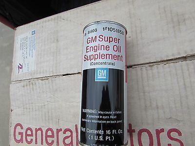 GENUINE GM SUPER ENGINE OIL SUPPLEMENT# 1051858 16OZ EOS OEM