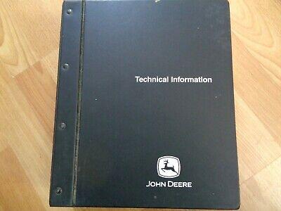 John Deere 9450 9550 9650 Combines Factory Technical Repair Manual Oem Tm1801