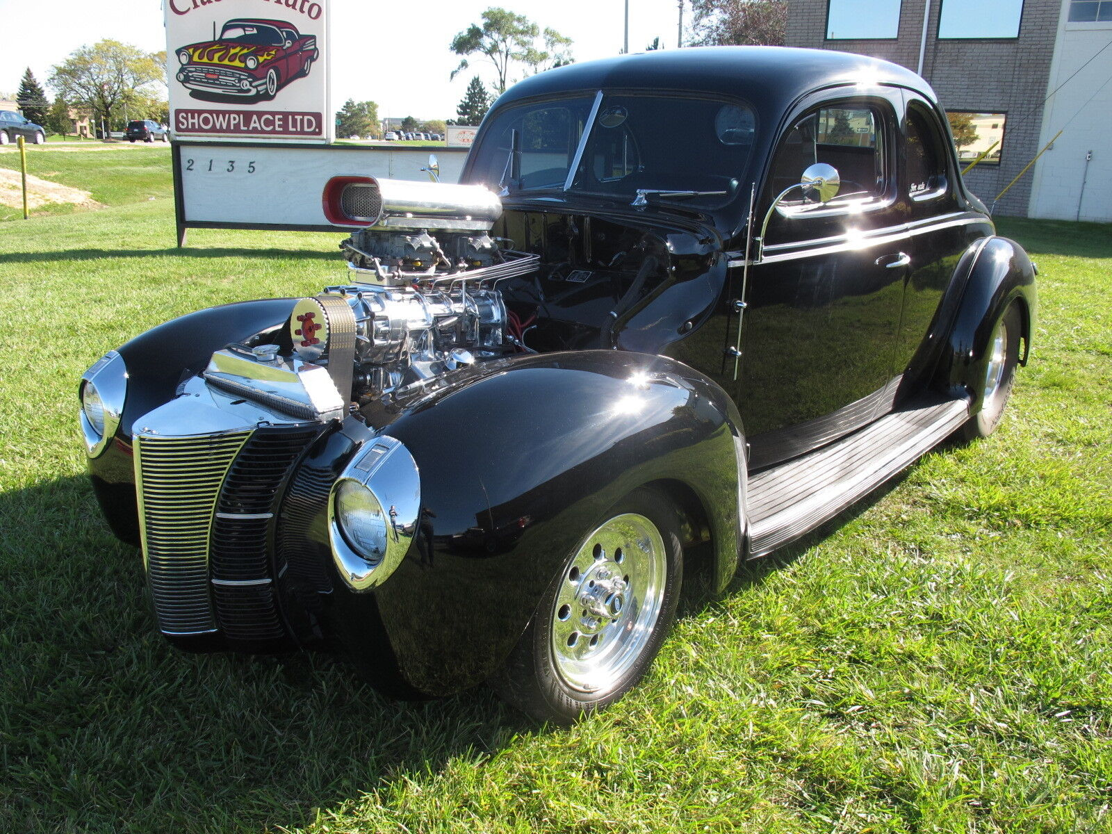 1940 Ford Deluxe Street Rod 1940 Ford Deluxe Coupe - Street Rod - BLACK/BLACK - 383 Stroker Supercharged