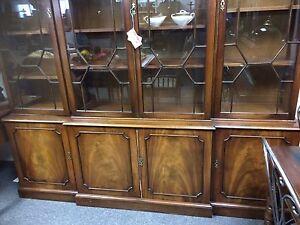 Bevan Funnel Break Front China Cabinet  London Ontario image 5