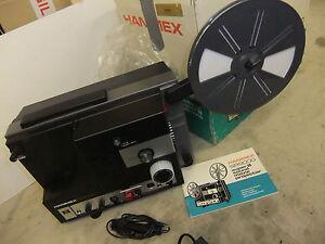 cine film projector hanimex sr9000 super 8mm sound original box used once inst ebay. Black Bedroom Furniture Sets. Home Design Ideas