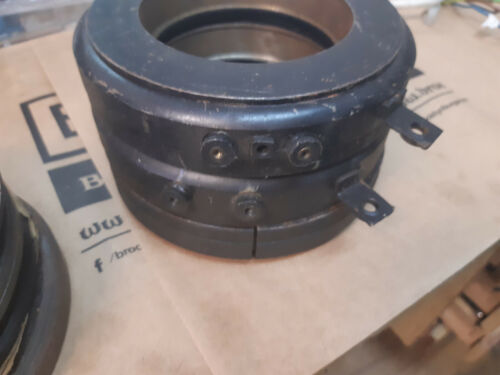 Warner Electric electromagnetic brake / clutch 160mm diameter