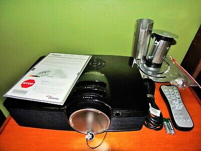 Optoma HD141X DLP Projector Very Good Condition Works Perfectly! 142 TOTAL HOURS