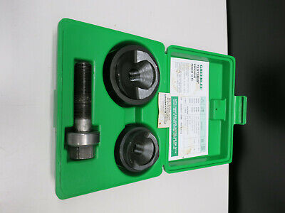 Greenlee 737bb Ball Bearing Knockout Punch Set Wcase 1 12 And 2
