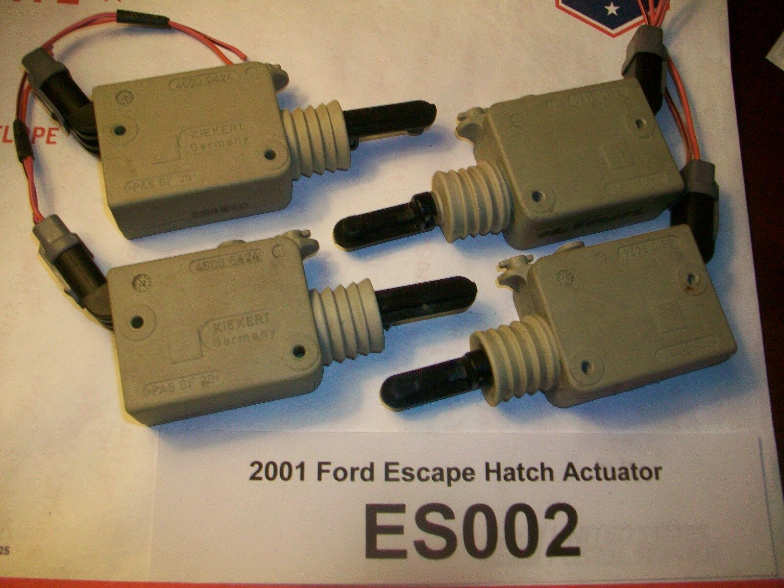Used Ford Escape Trunk Lids And Related Parts For Sale Rover 25 Tailgate Wiring Diagram Tested 2001 Liftgate Lock Actuator Hatch Oem Es002