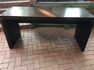 Solid Woodgrain Table Green Valley Liverpool Area Preview